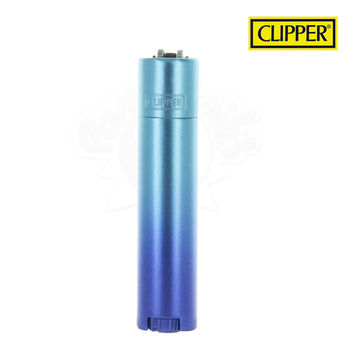 Briquet Clipper © Métal Blue Gradient (Bleu)