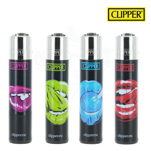 Lot de 4 Briquets Clipper © Sexy Lips
