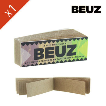 Carnet de filtre Beuz © Brown en carton (papier marron)