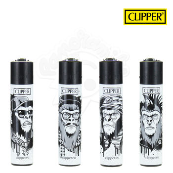 Lot de 4 Briquets Clipper © Monkeys