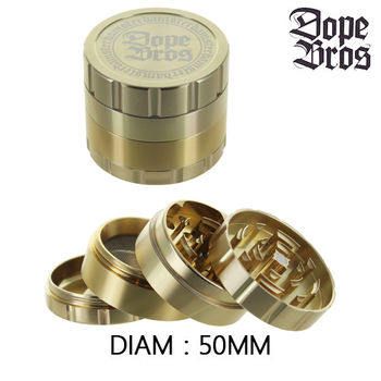 Grinder Alu Dope Bros © Crush (Gold)