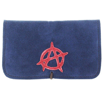 Blague à tabac Anarchy (Bleu)