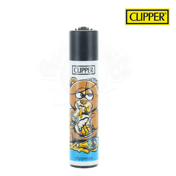 Briquet Clipper © Bad Teddies (Marron)