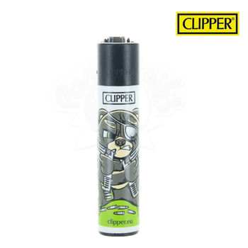 Briquet Clipper © Bad Teddies (Noir)