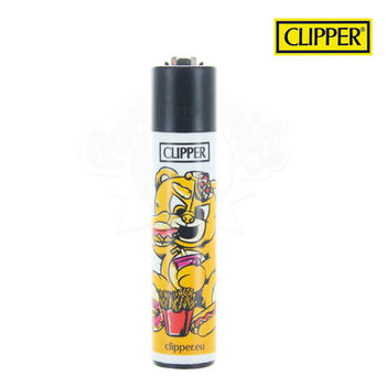 Briquet Clipper © Bad Teddies (Orange)