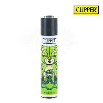 Briquet Clipper © Bad Teddies (Vert)