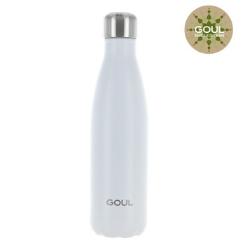 Bouteille isotherme Goul © 500ml (Blanc)