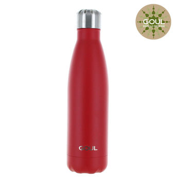 Bouteille isotherme Goul © 500ml (Rouge)
