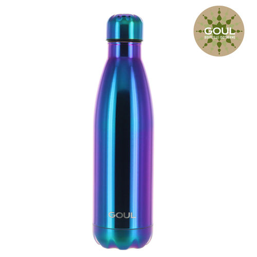 Bouteille isotherme Goul © 500ml (Rainbow)