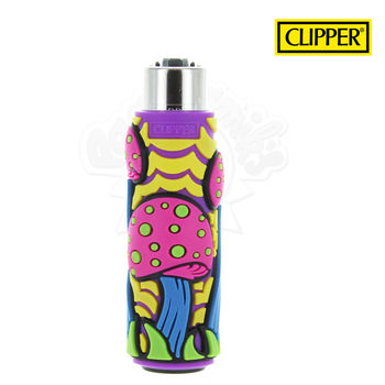 Briquet Clipper © Silicone Magic Mushrooms 02