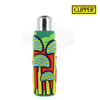 Briquet Clipper © Silicone Magic Mushrooms 06