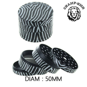 Grinder Alu Champ © Animal Skin (Zèbre )