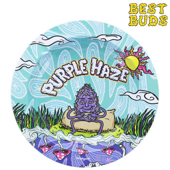 Cendrier rond en métal Best Buds © Purple Haze