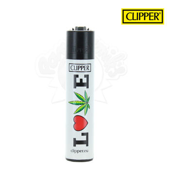 Briquet Clipper © Slogan (Love)