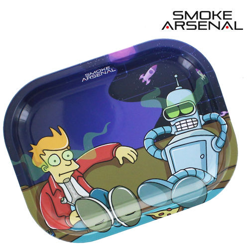 Plateau de roulage Smoke Arsenal © Stoned in Space