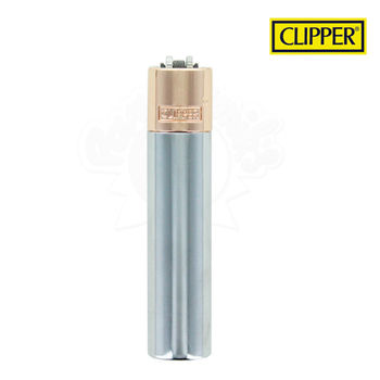 Briquet Clipper © Métal Rose Gold Silver (Silver)