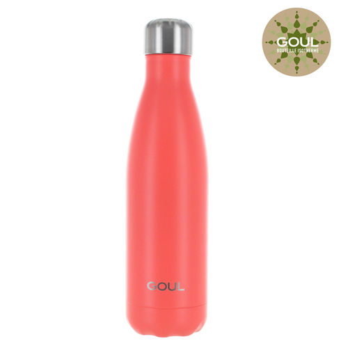 Bouteille isotherme Goul © 500ml (Orange)
