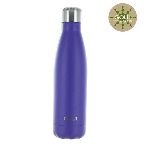 Bouteille isotherme Goul © 500ml (Purple)