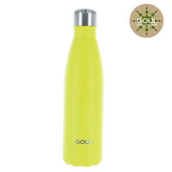 Bouteille isotherme Goul © 500ml (Jaune)