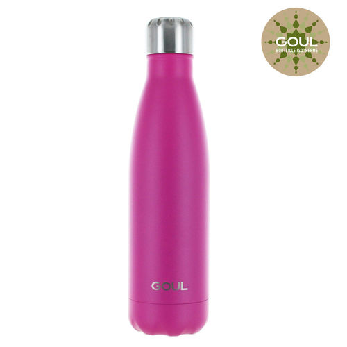 Bouteille isotherme Goul © 500ml (Fuchsia)
