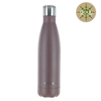 Bouteille isotherme Goul © 500ml (Cacao)
