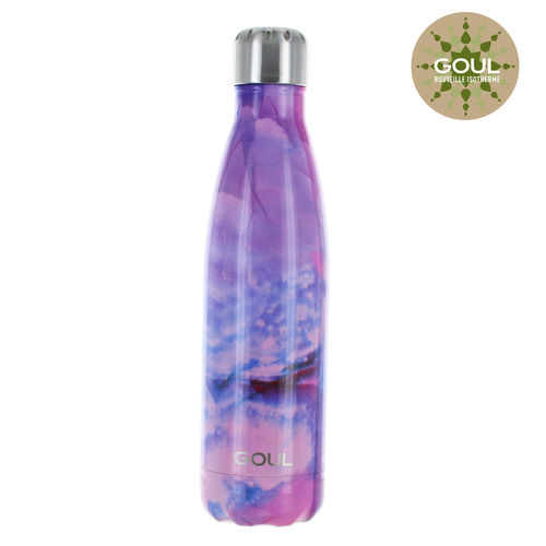 Bouteille isotherme Goul © 500ml (Pink Marble)