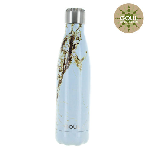 Bouteille isotherme Goul © 500ml (Bluish Marble)
