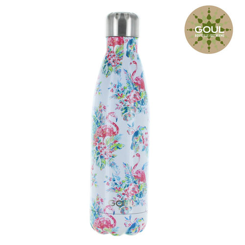 Bouteille isotherme Goul © 500ml (Pink Flamingos)