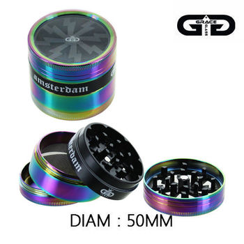 Grinder Alu Grace Glass © Amsterdam (Rainbow)