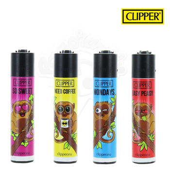 Lot de 4 Briquets Clipper © Tarsier