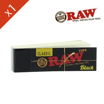 Carnet de filtre Raw © Black en carton