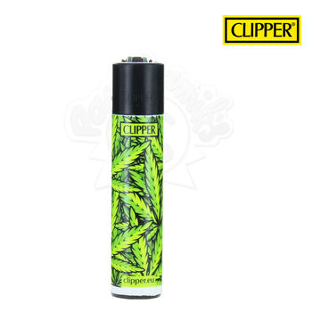 Briquet Clipper © Leaves #33 (Vert)