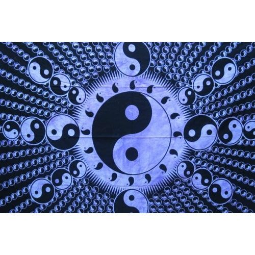 Tenture Psyche Yin Yang Special (Violet)