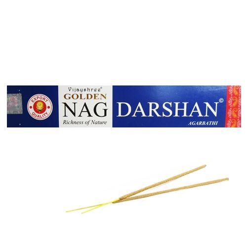 "Paquet d'Encens Golden Nag ""Darshan"""