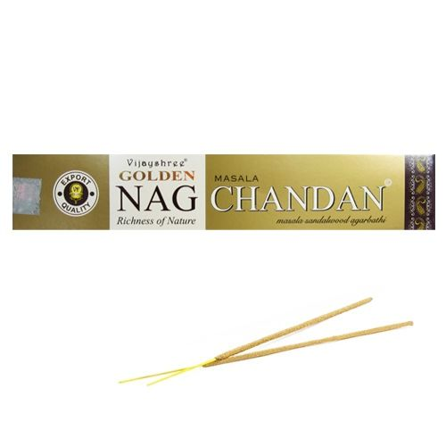"Paquet d'Encens Golden Nag ""Chandan"""