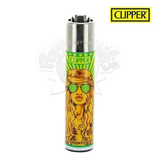 Briquet Clipper © Hippie Girl (Orange)