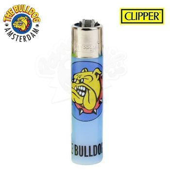 Briquet Clipper © The Bulldog Amsterdam (Bleu)