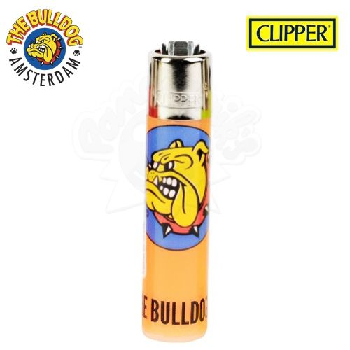 Briquet Clipper © The Bulldog Amsterdam (Orange)