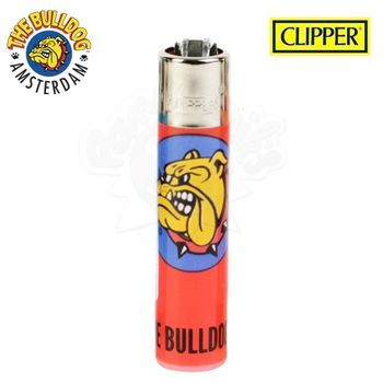 Briquet Clipper © The Bulldog Amsterdam (Rouge)