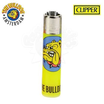 Briquet Clipper © The Bulldog Amsterdam (Jaune)