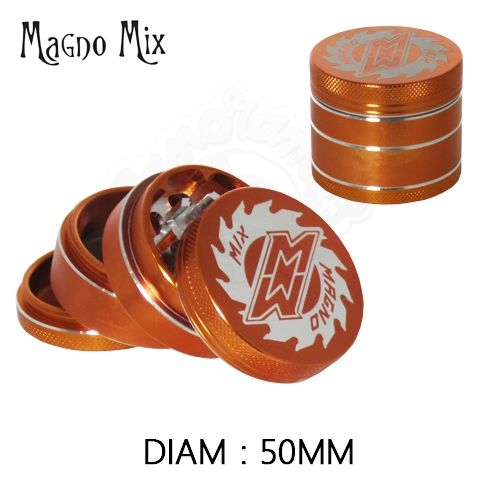 Grinder Alu MagnoMix  © Crusher (Orange)