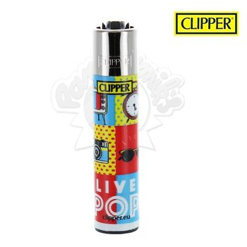 Briquet Clipper © Live Pop Art