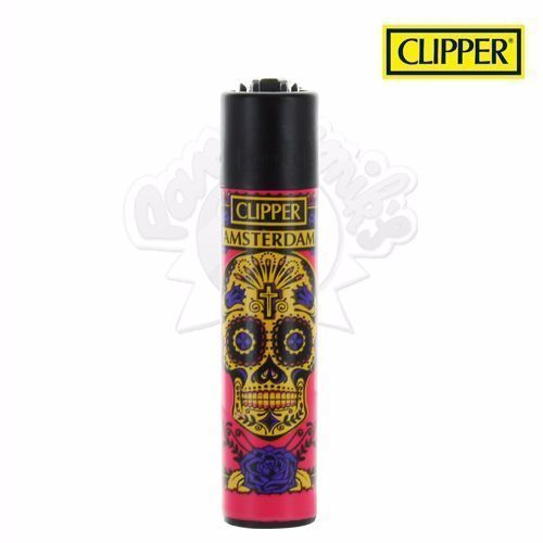 Briquet Clipper © Calavera (Rose)