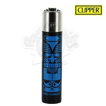 Briquet Clipper © Tiki (Bleu)