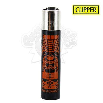 Briquet Clipper © Tiki (Orange)