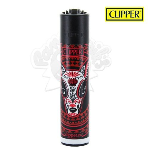 Briquet Clipper © Animal Psyche (Rouge)