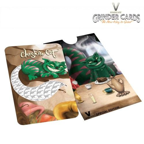 Grinder Carte Cheshire Cat