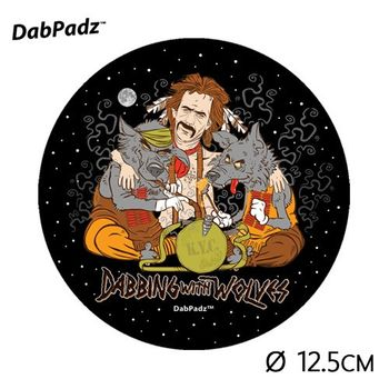 "Tapis de souris DabPadz © ""Dabbing with Wolves"" (PF)"