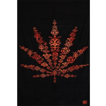 Tenture Toonz Feuille (Orange)