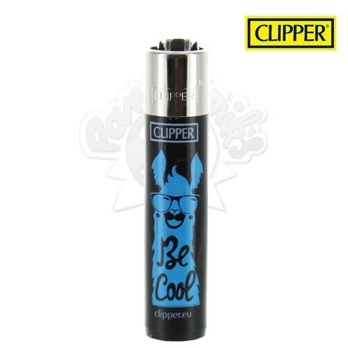 Briquet Clipper © Lama (Bleu)